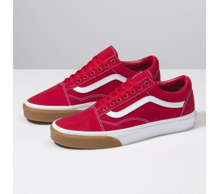 2c7b75fa0c81fb Shop Vans Old Skool Gum Bumper