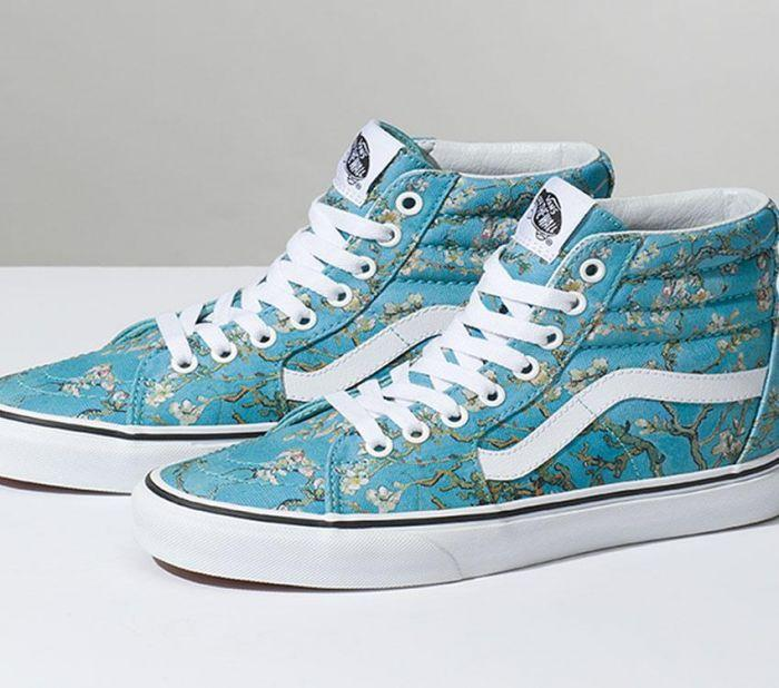 1917521756d9 Home  Vans x Van Gogh Museum Almond Blossom Sk8-Hi. Skip to the end of the  images gallery