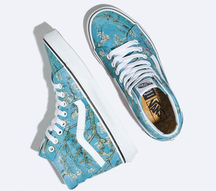 293551063795 Home  Vans x Van Gogh Museum Almond Blossom Sk8-Hi. Skip to the end of the  images gallery. Skip to the beginning of the images gallery