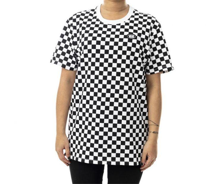 cd824c39af Shop Vans Apparel and Accessories AP ALL CHECKER ON TEE CHECKER ...