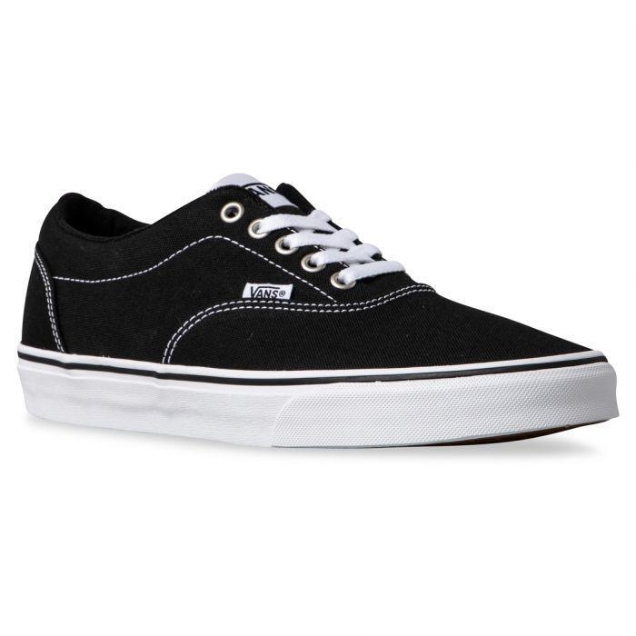 c78570dca13741 Shop Vans DOHENY (CANVAS) BLACK WHITE