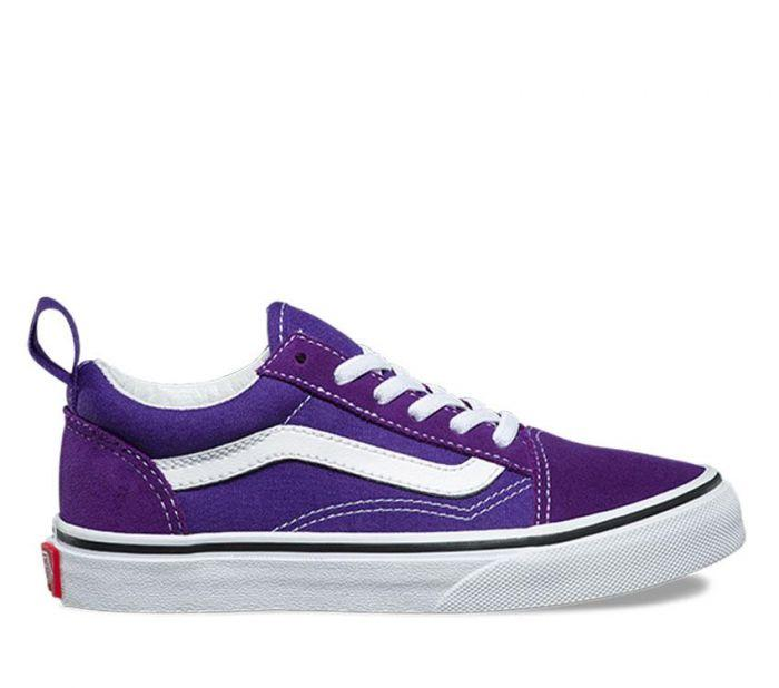 997f1854d684 Shop Vans OLD SKOOL ELAS LACE HELIOTROPE