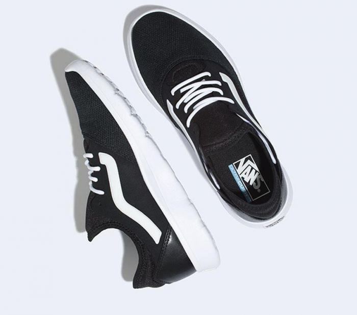 Shop Vans ISO ROUTE (STAPLE) BLK T WHT  00952dc9a