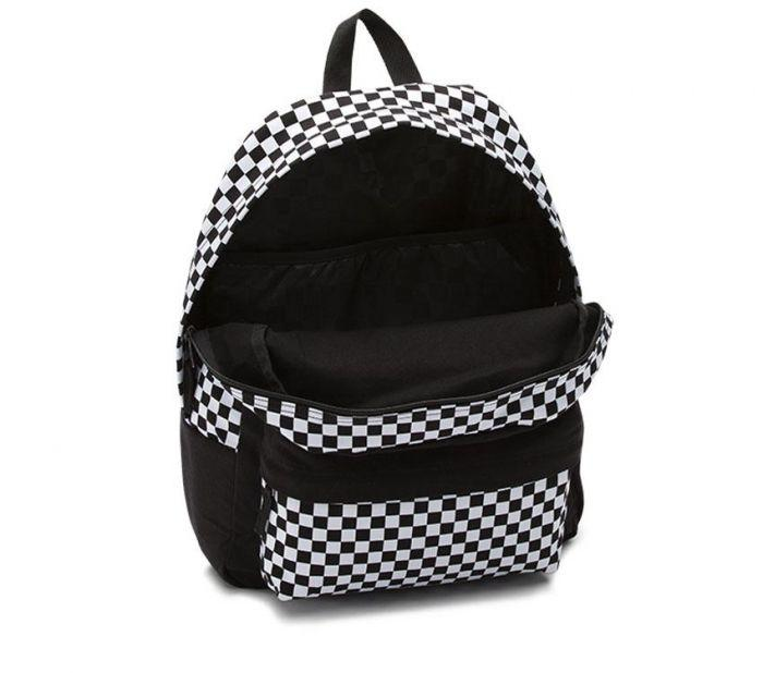 1efdd1f128eb0 Shop Vans Apparel and Accessories CENTRAL REALM BACKPACK BLACK ...