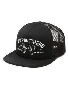 Vans x Anti Hero On The Wite Black Trucker Hat