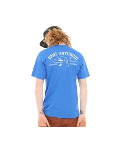 Vans x Anti Hero On The Wire Blue Short Sleeve Tee