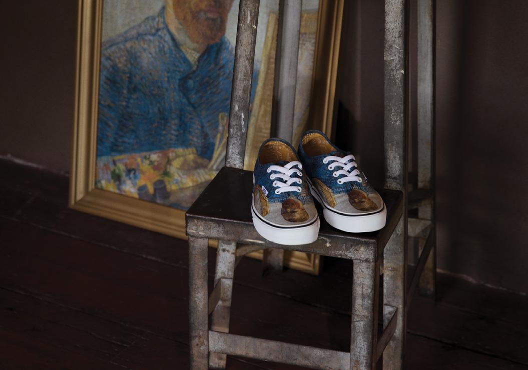 e0e9ac3e7ffd Vans and the Van Gogh Museum proudly partner to present an artfully  designed collection utilising Van Gogh masterpieces across iconic Vans  Classics ...