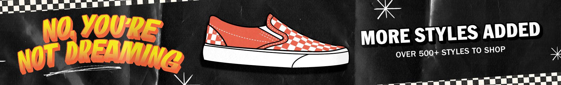 Over 500+ Styles On Sale | Exclusive Offers From Vans